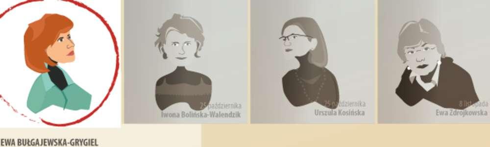 Literatura jest kobietą – spotkanie z Ewą Bułgajewską-Grygiel