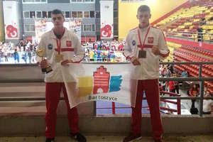 Michał mistrzem Europy w kickboxingu, Sebastian z brązowym medalem