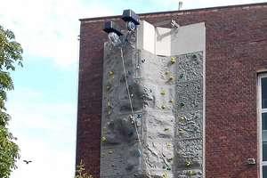 Olsztyńska ścianka pod chmurką znów otwiera się dla fanów wspinania