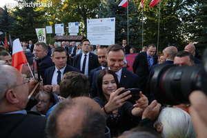Prezydent Duda przywiózł do Jezioran nadzieję [ZDJĘCIA, FILM]