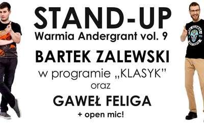 Stand-up Warmia Andergrant w 9. odsłonie