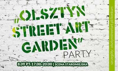 Olsztyn Street Art Garden Party