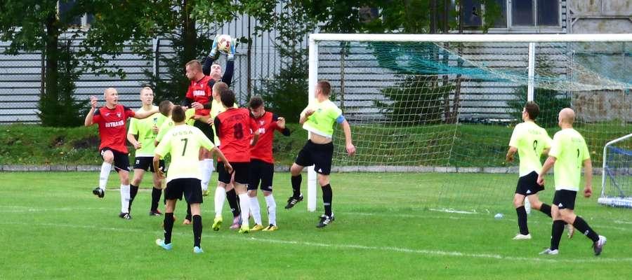 Piłkarze Startu Nidzica nie zdołali zdobyć żadnej bramki w spotkaniu z Ossą Biskupiec
