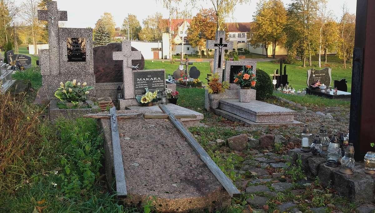Nagrobna płyta pani Brandt z domu Tyszka - full image