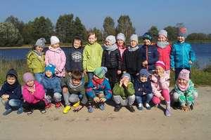 Przedszkolaki z Działdowa odwiedziły gospodarstwo rybackie w Koszelewach