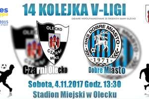 Czarni Olecko zagrają z DKS-em Dobre Miasto