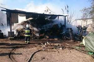 Groźny pożar w Gnojnie