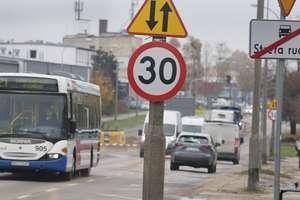 Z Olsztyna: Na osiedlu Podleśna pojedziemy tylko 30 na godzinę