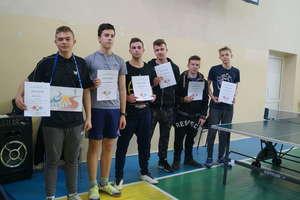 Turniej tenisa w gołdapskim LO