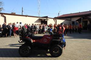 Strażacki jubileusz i quad w prezencie