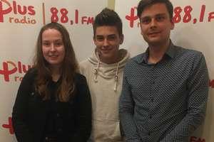 Wolontariusze ze Szkoły Podstawowej nr 14 w Olsztynie na antenie Radia  Plus