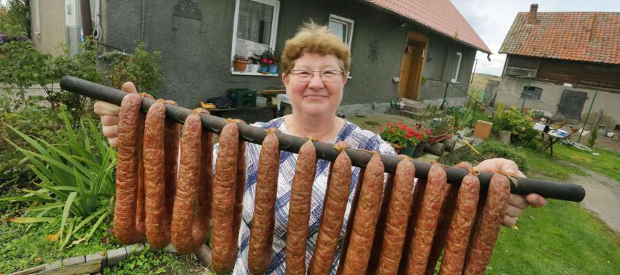 Alicja Antosiak  Gady-Alicja Antosiak producentka wędlin