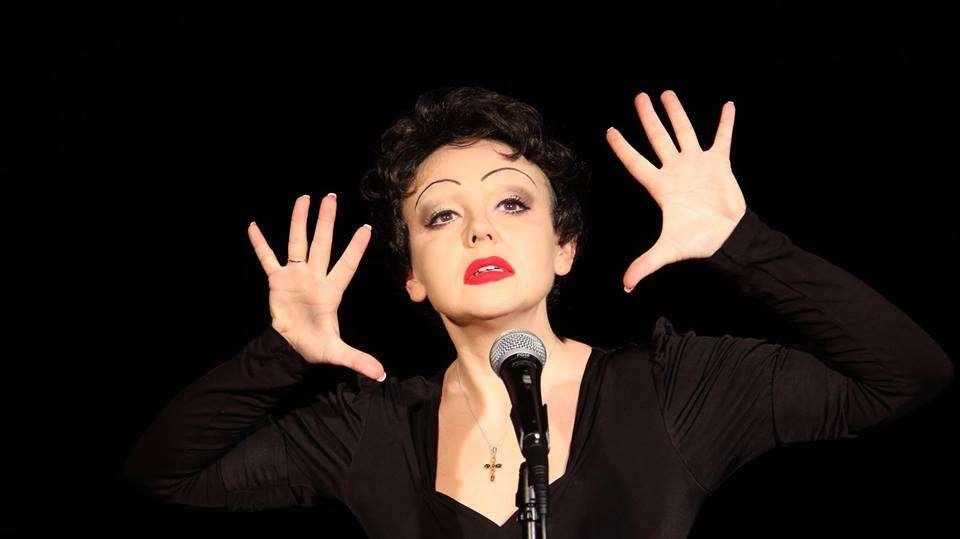 Wieczór z Edith Piaf — recital Patrycji Zywert-Szypki - full image
