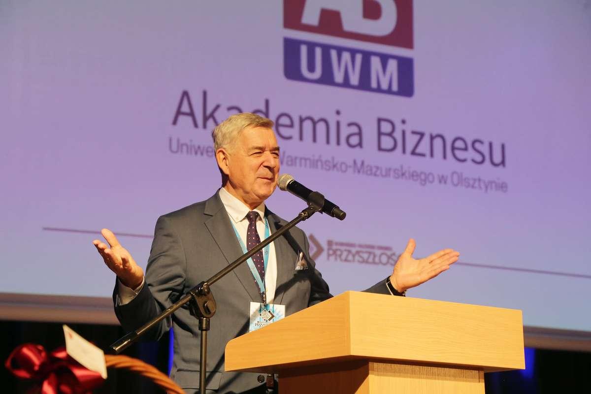 Kongres Przyszłości 2017  Olsztyn-I Warmińsko-Mazurski Kongres Przyszłości odbył się w Centrum Konferencyjnym w Kortowie. Nz.Otwarcie Akademia Biznesu