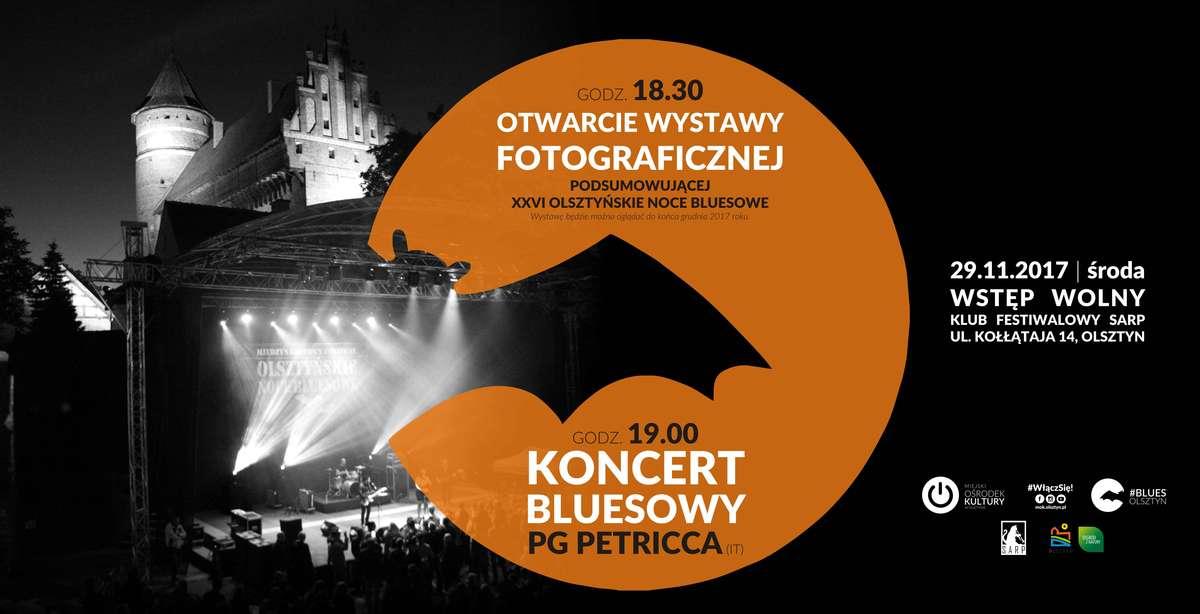 Olsztyńskie Noce Bluesowe w obiektywie i koncert Pierluigi Petricca - full image
