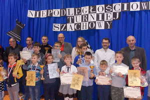 IV Niepodległościowy Turniej Szachowy w Brzoziu Lubawskim