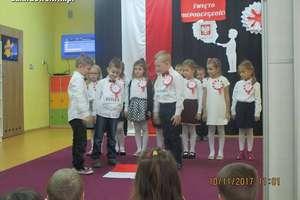 Święto Niepodległości w przedszkolu UMisia [zdjęcia]