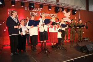 Przegląd Pieśni Patriotycznej w szkole w Górowie Iławeckim