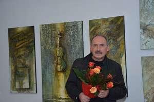 Wernisaż wystawy Krzysztofa Koniczka w Olecku