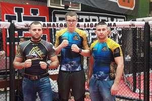 Niespotykanie spokojny Artur Dziki mistrzem Polski juniorów w MMA