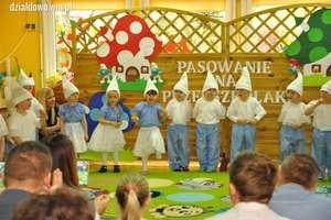 Smerfne pasowanie na przedszkolaka [zdjęcia]