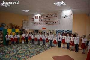 Akademia z okazji święta Niepodległości w Przedszkolu Miejskim nr 5 w Działdowie [zdjęcia]
