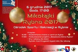 Zapraszamy na Mikołajki do OSiR w Rybnie