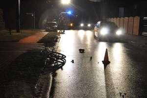 Śmiertelny wypadek  na drodze w Rybnie