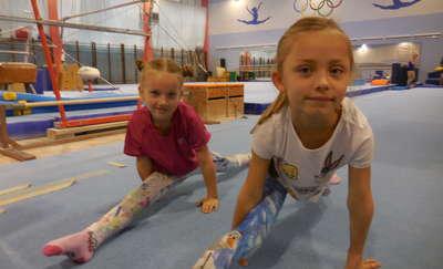 Gimnastyka to też forma zabawy