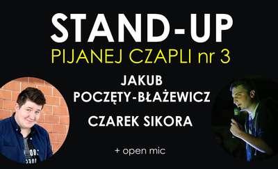 Sikora i Poczęty-Błażewicz, czyli kolejny stand-up w Olsztynie!