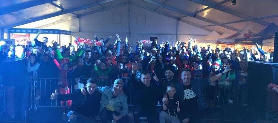 Faster z Tymonem Cienciałą i zespołem MeGustar po koncercie w Zakopanem