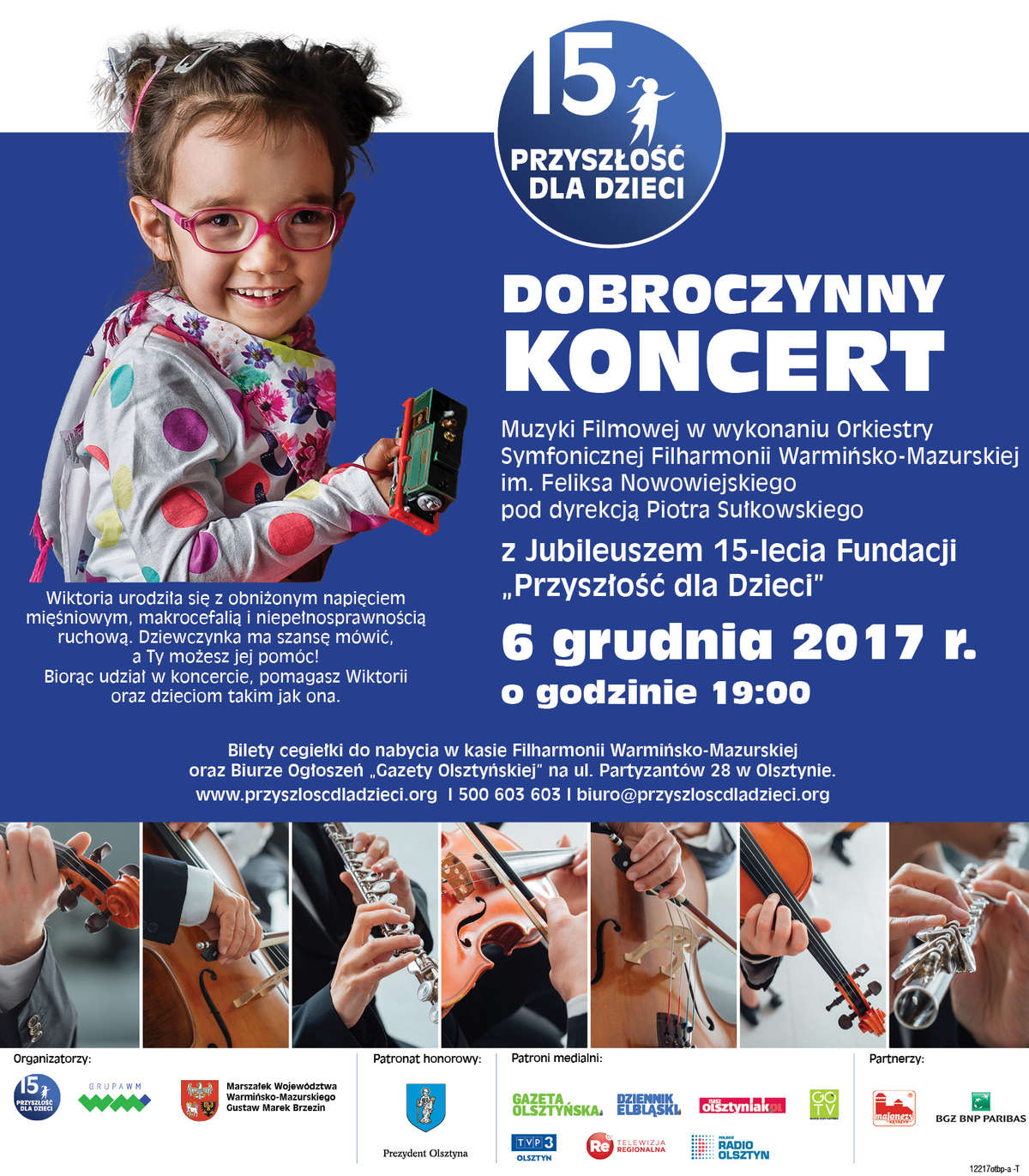 Już dziś Dobroczynny Koncert  Muzyki Filmowej!  - full image