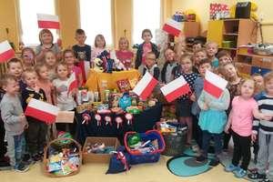 Przedszkolaki wysłały paczki dla Polaków na Kresach