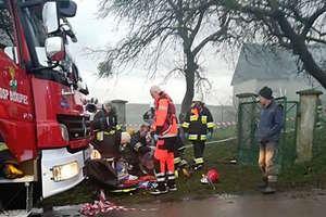Pożar w Lipinkach. Trwa akcja gaśnicza