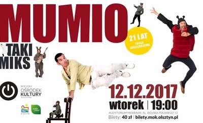 TAKI MIKS: Kabaret Mumio w Olsztynie