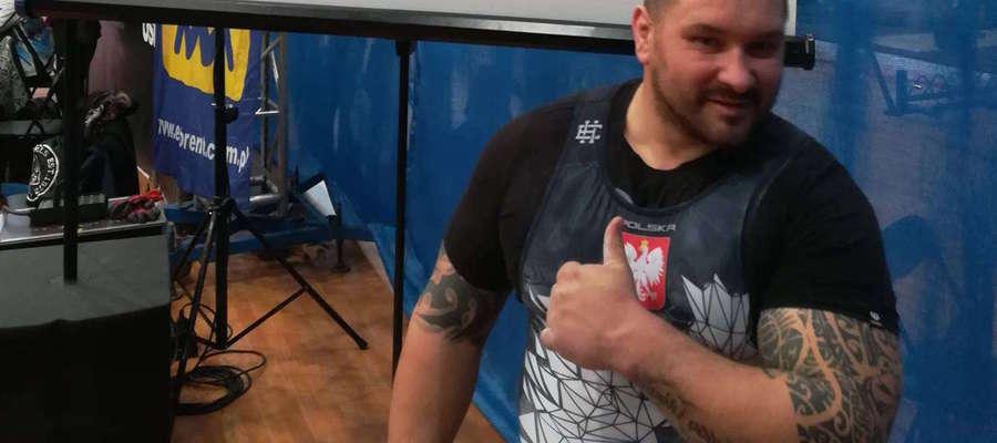 Marek Makarewicz ma w ostatnim czasie sporo sportowych powodów do zadowolenia