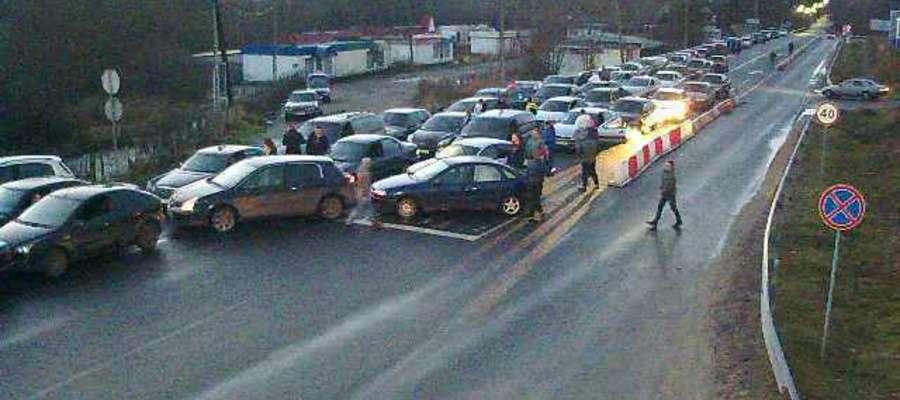 Do takich sytuacji często dochodzi na przejściu granicznym Bagrationowsk-Bezledy.