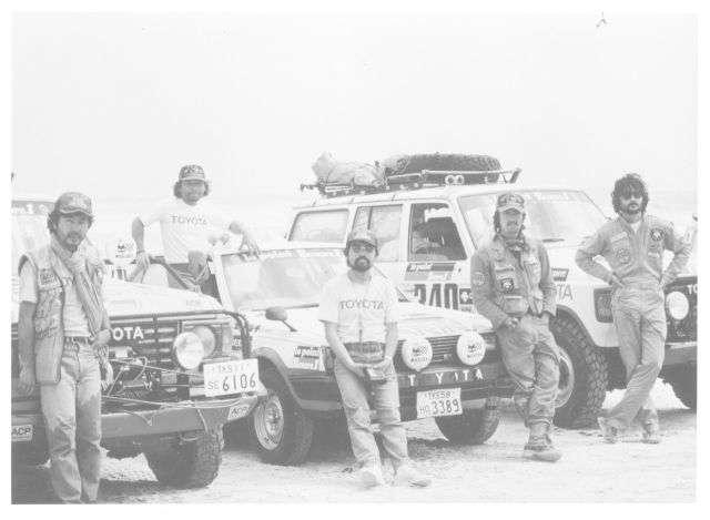 Toyoty zmagania w Rajdzie Dakar - full image