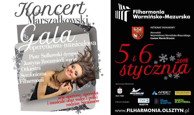Gala operetkowo-musicalowa w olsztyńskiej filharmonii - full image