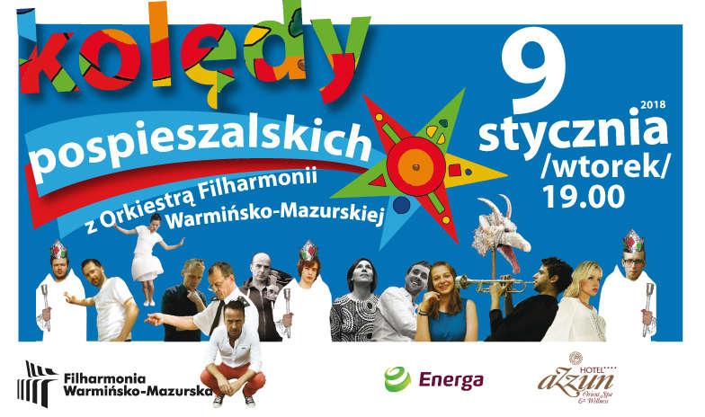 Pospieszalscy zagrają kolędy w olsztyńskiej filharmonii - full image