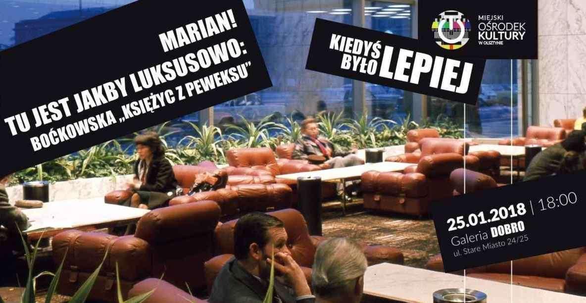 Marian! Tu jest jakby luksusowo! Spotkanie z Aleksandrą Boćkowską w olsztyńskiej Galerii Dobro - full image