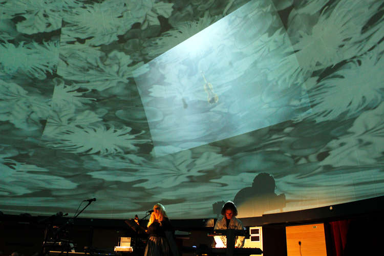 Nisza lodowa w planetarium - full image