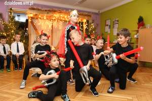 Jasełka Bożonarodzeniowe w Przedszkolu nr 4 w Działdowie [zdjęcia, film]