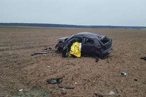 Śmiertelny wypadek. Nie żyje 32-letni kierowca VW polo