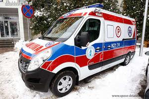 Nowy ambulans i sprzęt medyczny dla ratowników medycznych [zdjęcia]