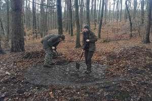 Leśnicy odsłonili tajemniczy obiekt w Leśnictwie Sarnia Góra.