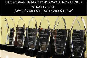 Sportowiec roku 2017 - Wyróżnienie Mieszkańców