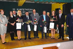 Statuetki Kurzętnickiej Gali Biznesu '2018 dla najlepszych
