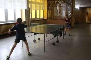Mistrzostwa Bartoszyc w tenisie stołowym pomysłem na nadchodzące ferie