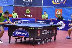Szczęśliwa trzynastka, pingpongiści Morlin Ostróda wygrali bez gry